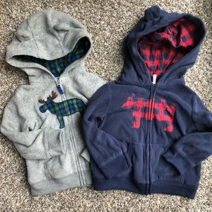 Carter's | Woodland Bear Ears Fleece Hoodie Bundle